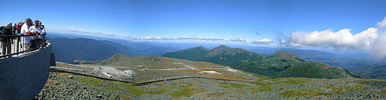 Mount Washington Observation Deck, NH, New Hampshire 4000 Footers