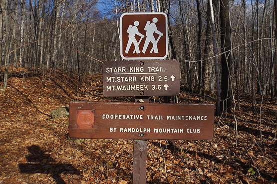 starr king trail traillhead waumbek starr king jefferson nh hiking hike